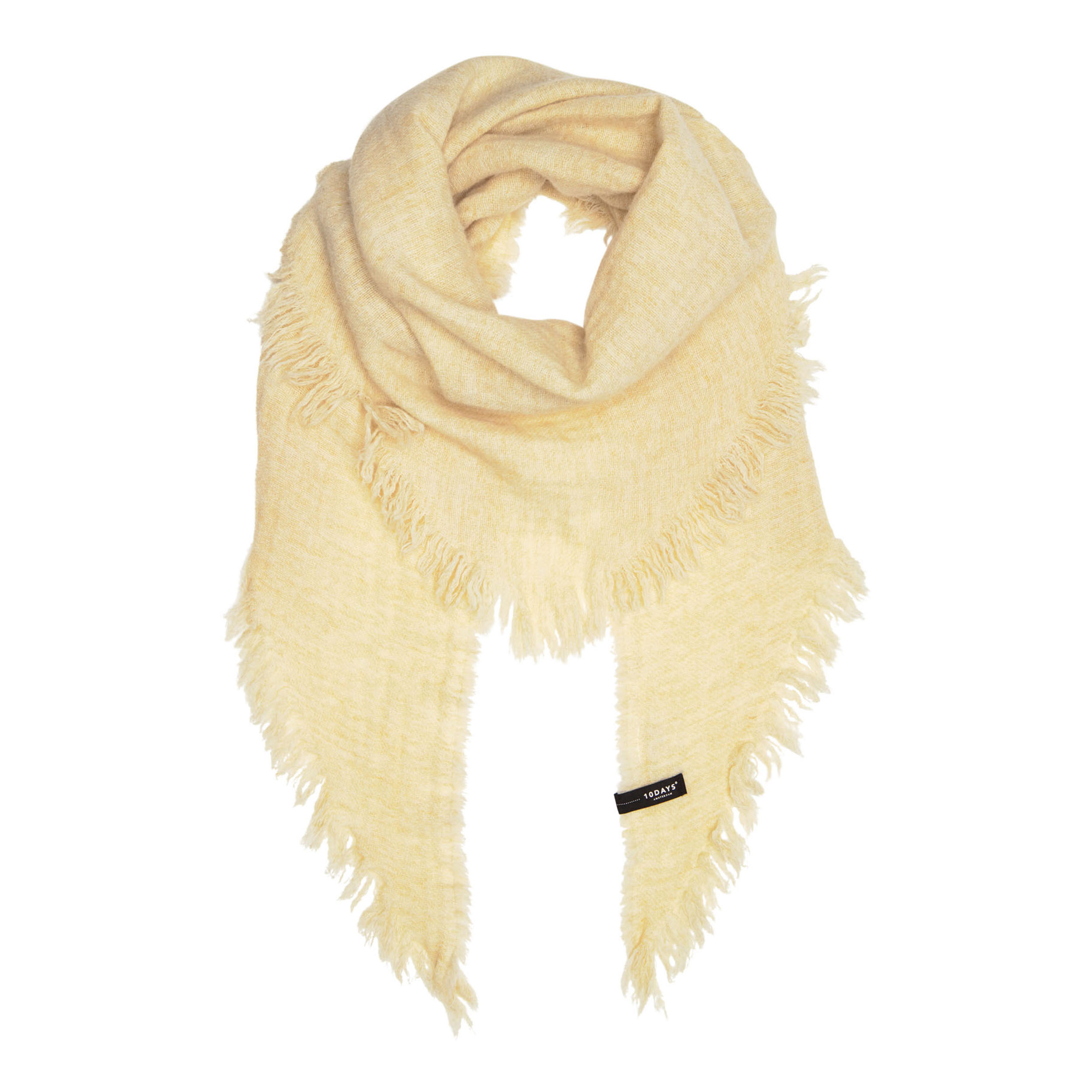 10Days Triangle Scarf beige