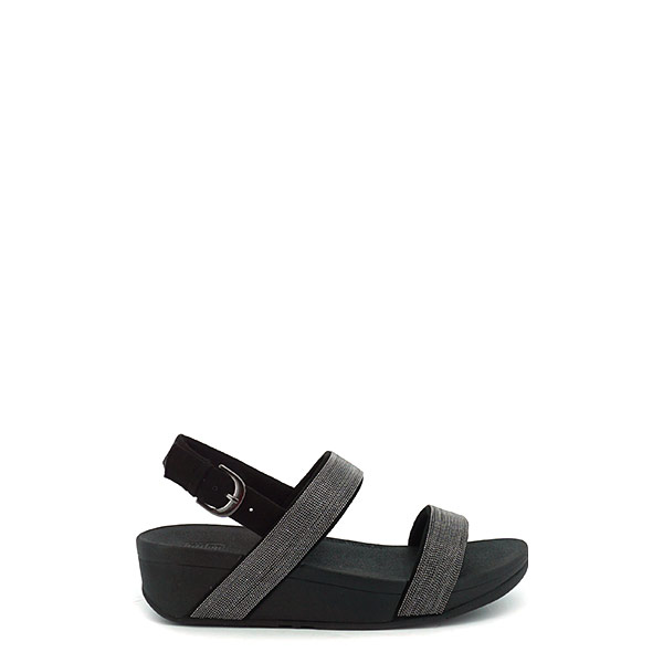 Dames FitFlop Lottie Shimmermesh zwart