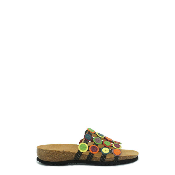 Dames Slipper Think Julia multicolor