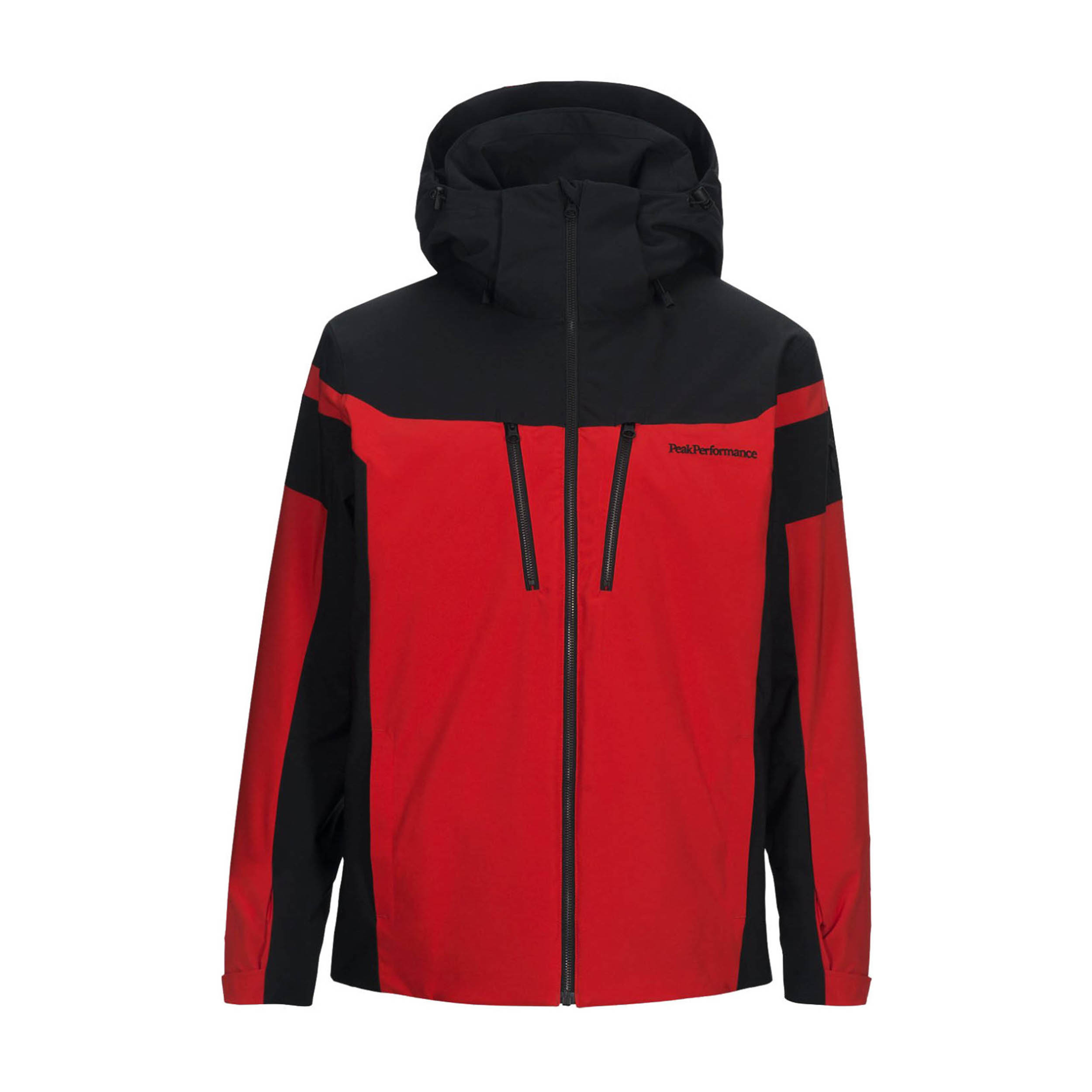 Heren Skijas Peak Performance Lanzo rood