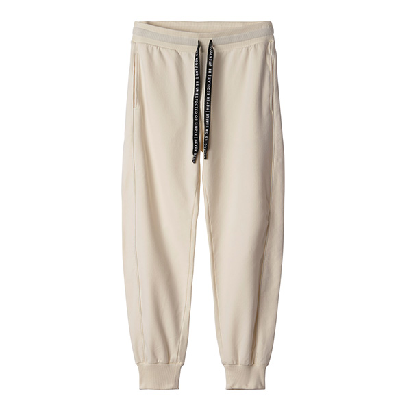 Dames Jogger 10Days Double Piping wit