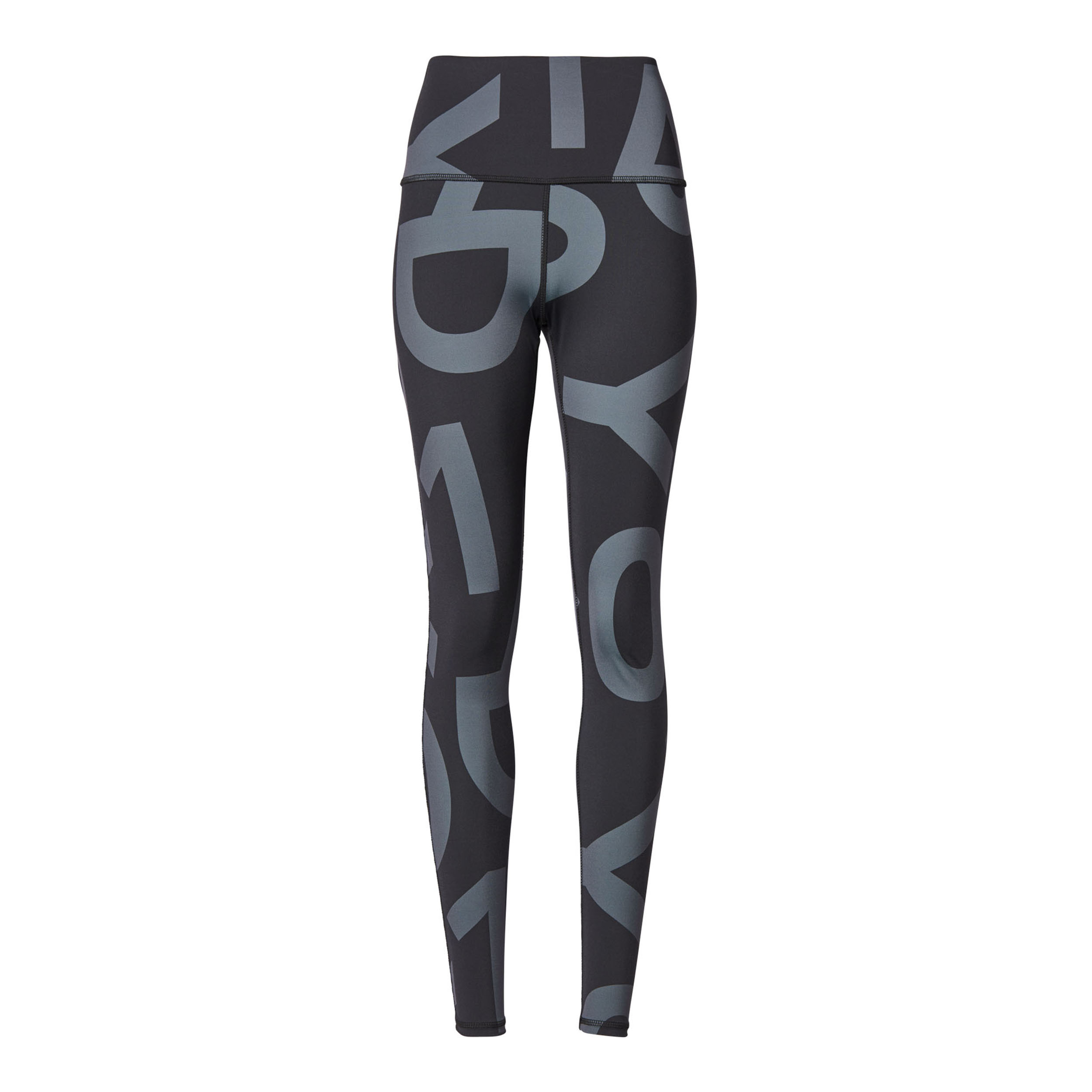 Dames Legging 10Days Yoga Leggings Big Logo grijs