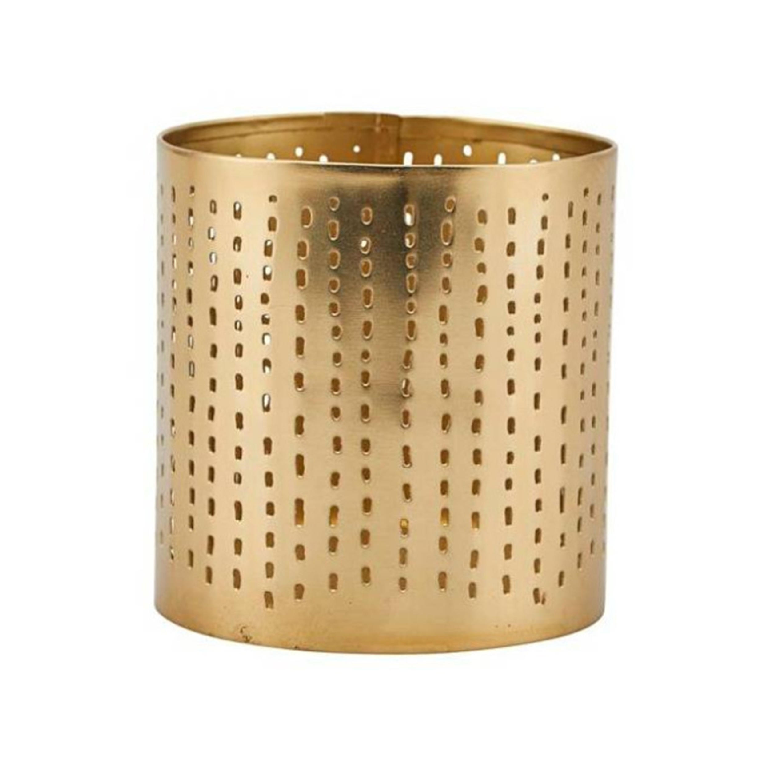 Decoratie waxinelichthouder House Docter candle stand 8.5cm goud