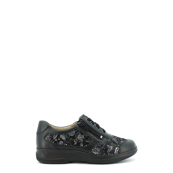 Dames Sneaker Perfect Footwork Anna Comfort Plus zwart