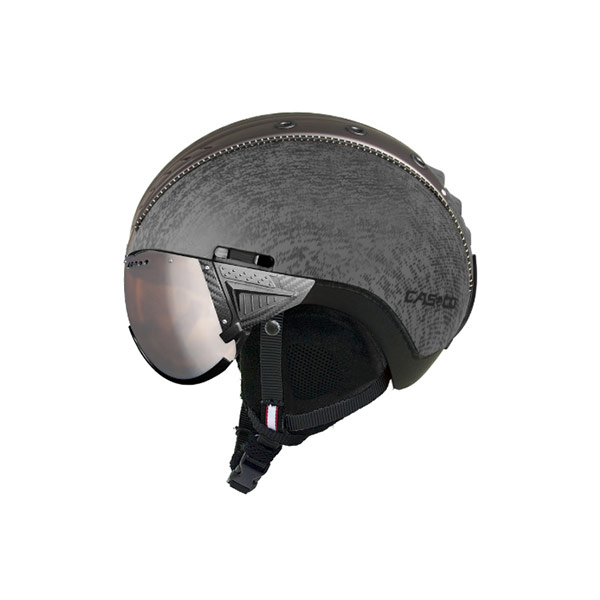 Skihelm Casco Sp-2 Visor grijs metallic