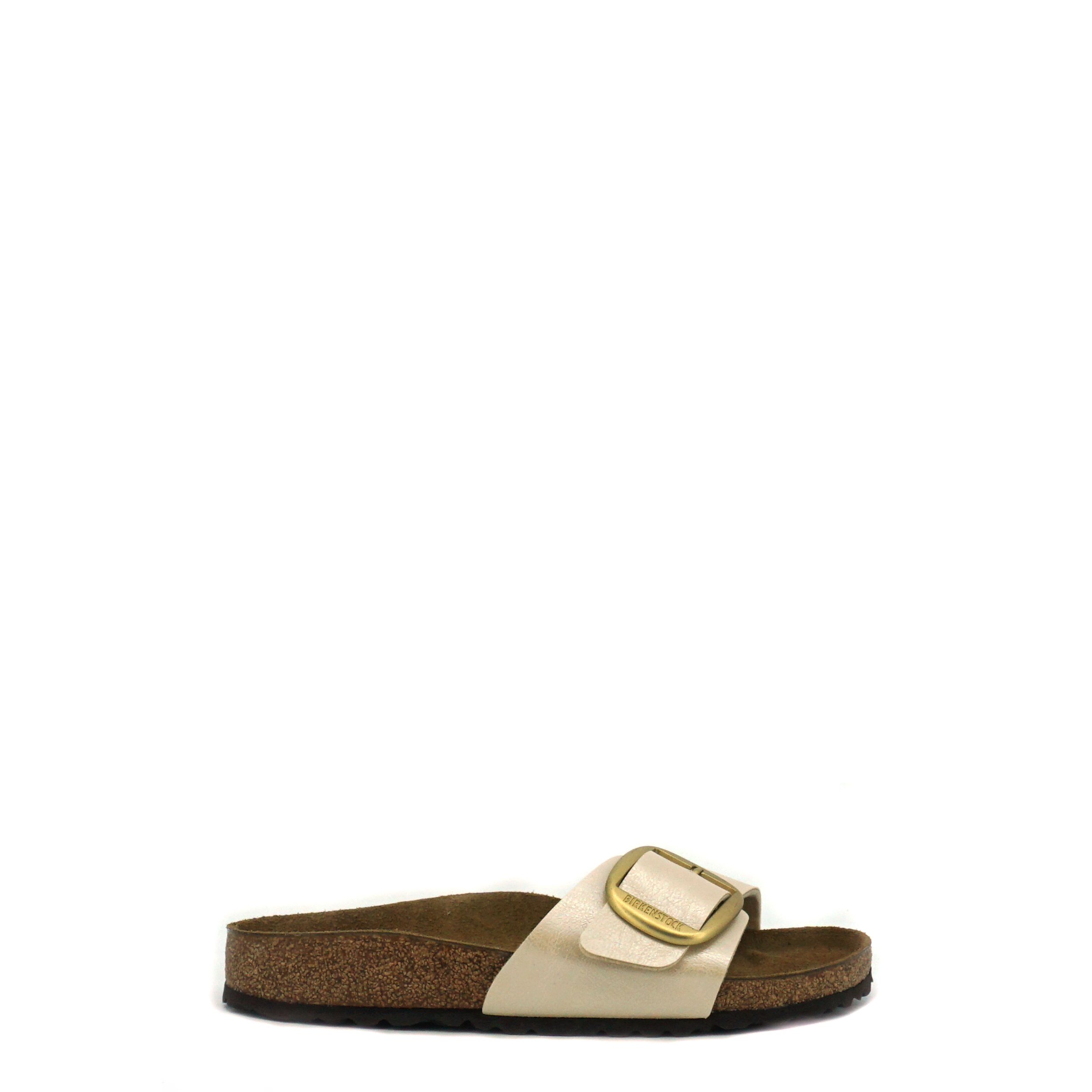 Birkenstock Madrid wit slipper dames