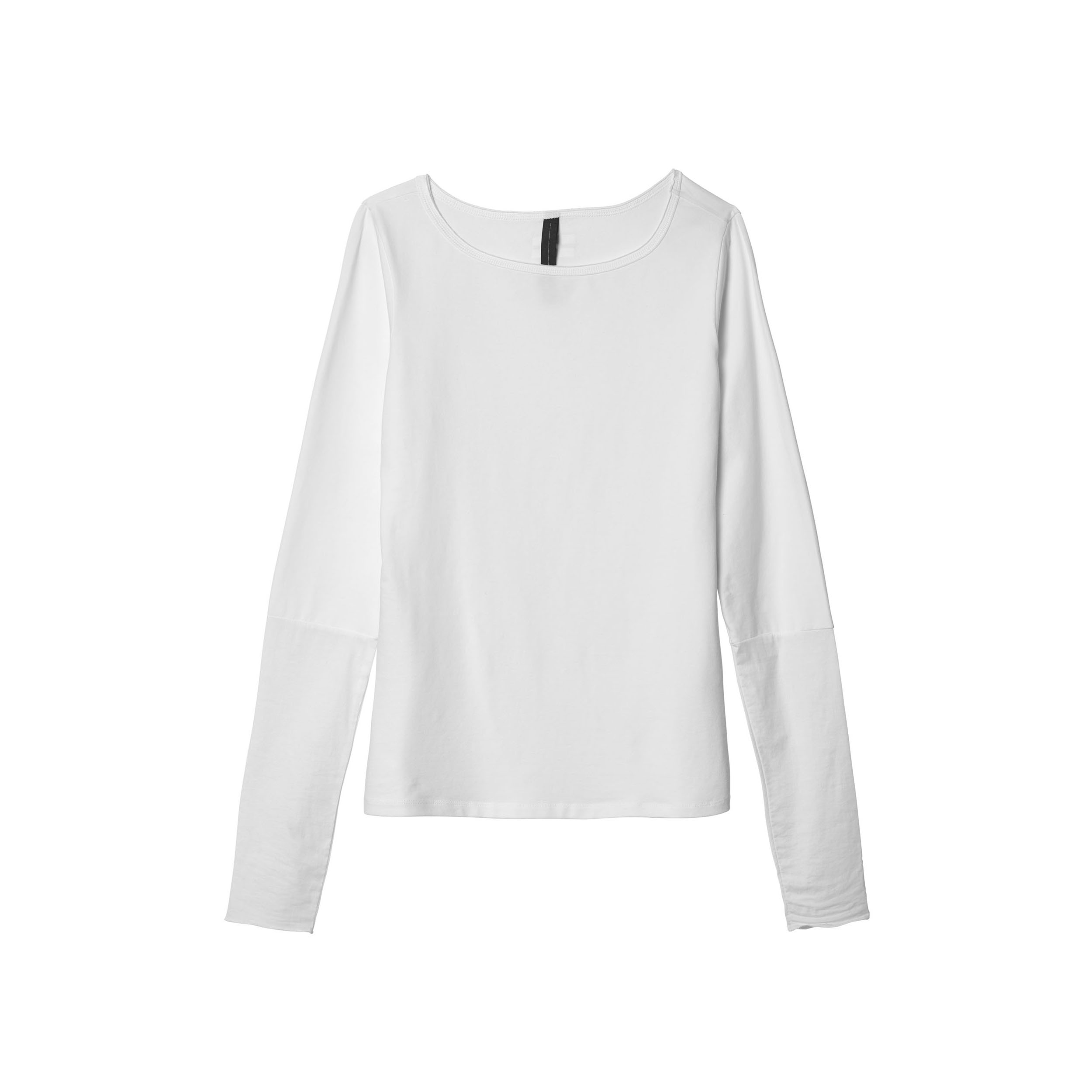 Dames Shirt 10Days Boatneck Tee Poplin